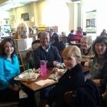 Members of Speed City SinC meet with author Susan Furlong.